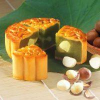 Bánh Trung Thu Kinh Đô Chay Trà Xanh Hạt Macadamia  150g