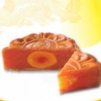 Bánh Trung Thu Dinh Dưỡng BIBICA Đậu Xanh Gấc 1 Trứng 150g – 00