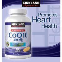Kirkland CoQ10. Sản phẩm bổ trợ tim mạch. Lọ 100 viên nang mềm