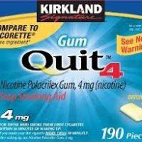 Kẹo cai thuốc lá Kirkland Signature™ Quit2™ 4 mg. Hộp 190 viên