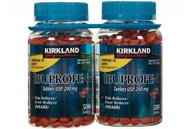 KirkLand Ibuprofen 200mg – Chấm dứt các cơn đau hiệu quả. Lọ 500 viên