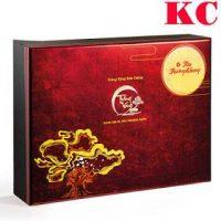 Bánh Trung Thu Kinh Đô Trăng Vàng Kim Cương Trường Khang (6 bánh 180g+ trà)