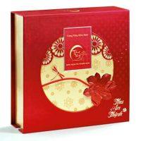 Bánh Trung Thu Kinh Đô Trăng Vàng Hồng Ngọc An Thịnh Đỏ ( 4 Bánh 200g)