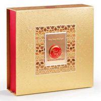 Bánh Trung Thu Kinh Đô Trăng Vàng Hồng Ngọc Vàng (4 Bánh 200g)