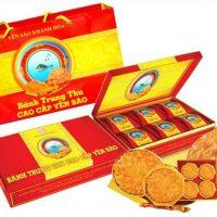 Bánh Trung Thu cao cấp Yến Sào Khánh Hòa hộp 6 bánh 200g ( 6 bánh nhân mềm)