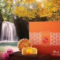 Bánh Trung Thu Kinh Đô Trăng Vàng Hồng Ngọc An Lành Cam (4 Bánh 200g)
