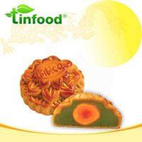 Bánh Trung Thu BIBICA Hạt Sen Trà Xanh 1 Trứng 150g – 45