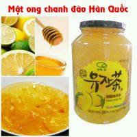Mật ong chanh đào Hàn Quốc – chai  1kg